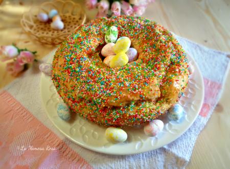 Ciambella di Pasqua con gelatina di albicocche
