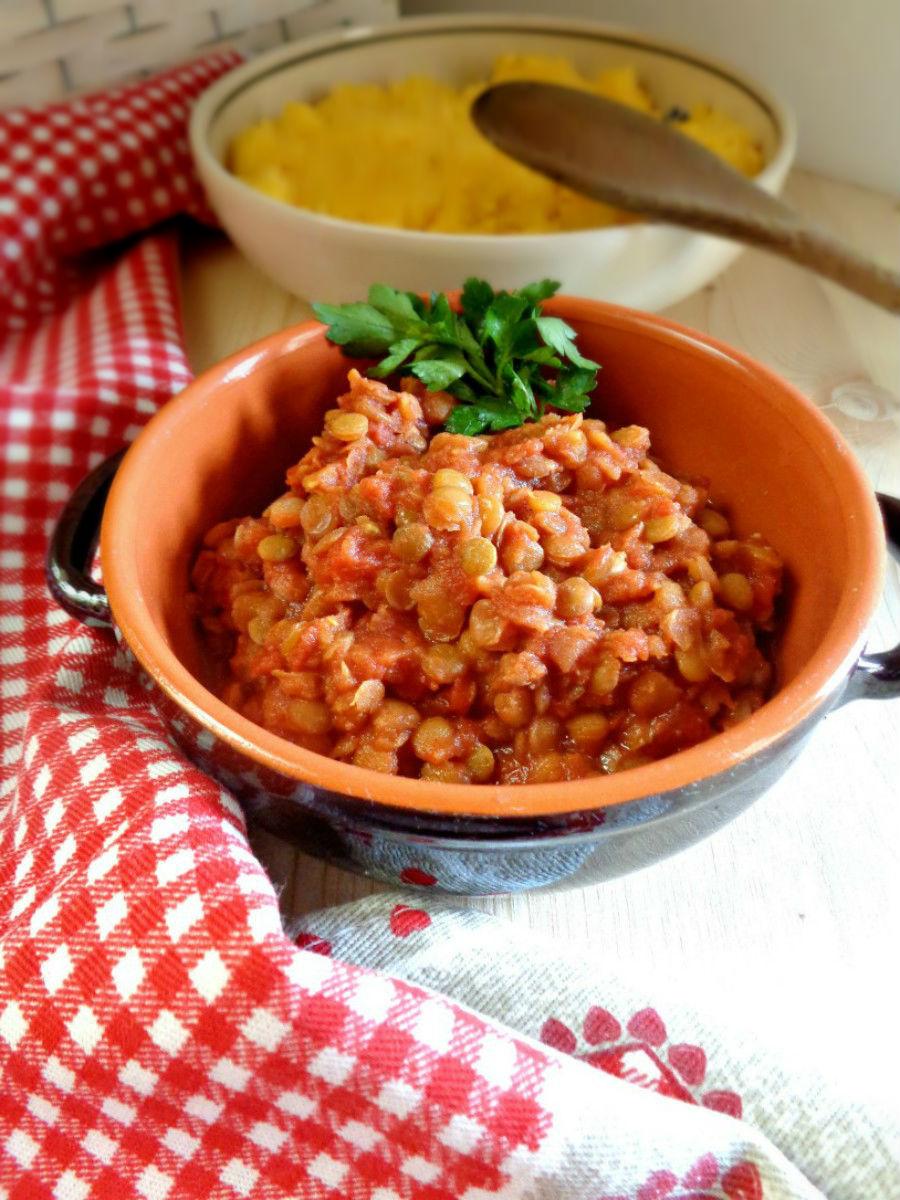 Ragù di lenticchie ricetta