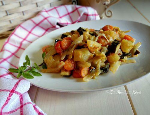 Verdure in padella con garam masala