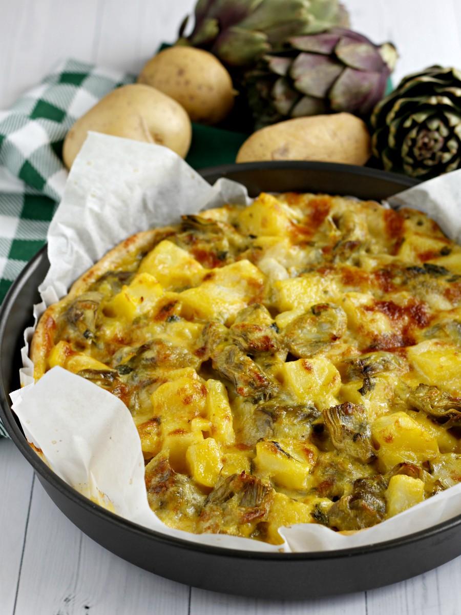Torta salata senza uova ricetta 2