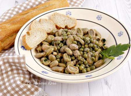 Fave fresche e piselli, piatto primaverile semplice e gustoso