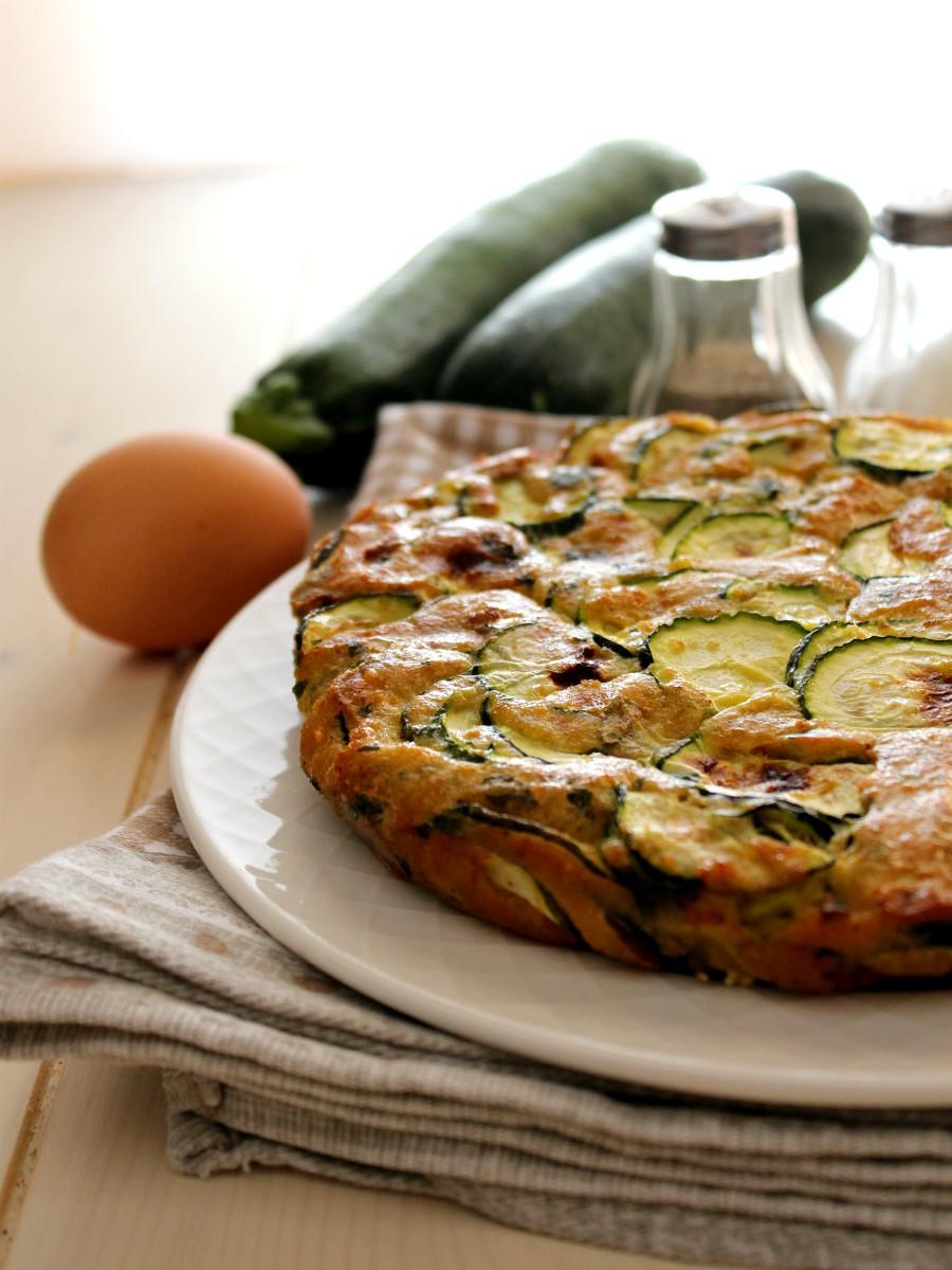 Frittata di zucchine al forno ricetta 2