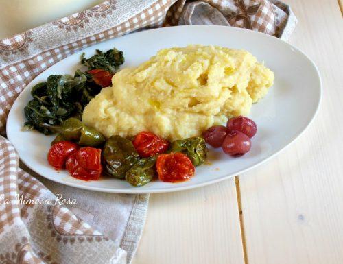 Purè di fave con patate, tipica ricetta pugliese