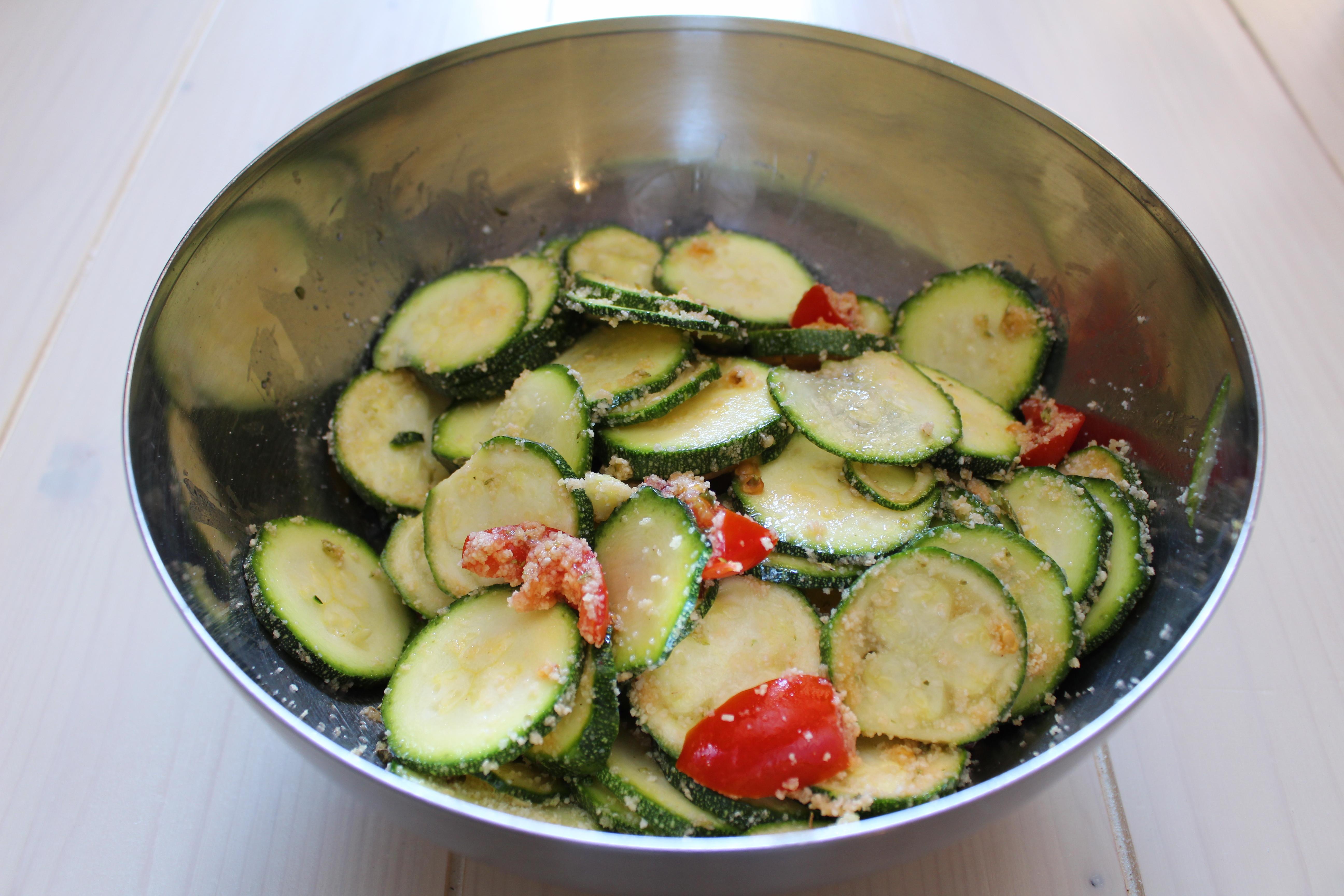 Zucchine gratinate con origano 1
