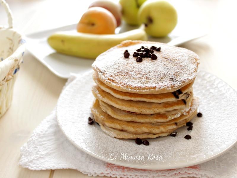 Pancake senza uova e lattosio