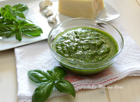 Pesto alla genovese di suor Germana