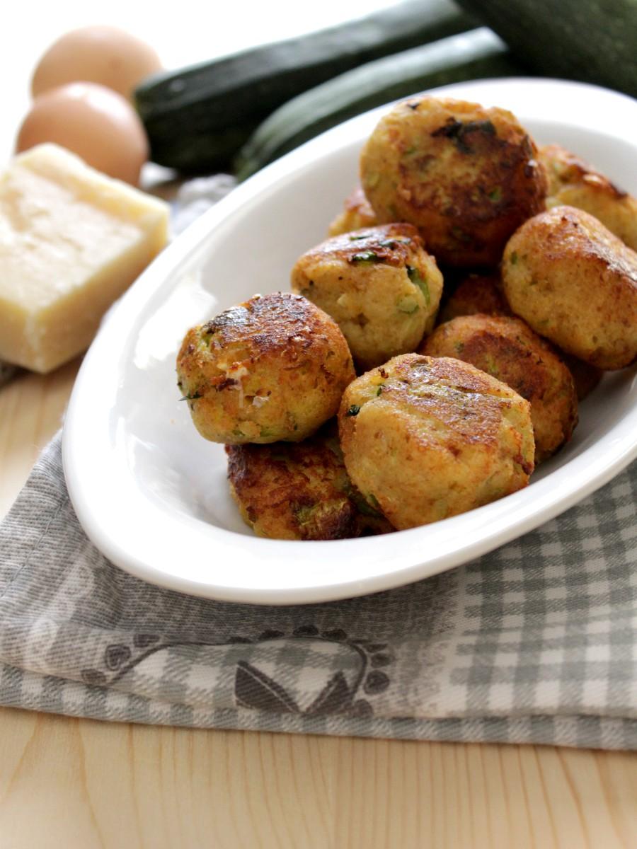 Polpette di zucchine ricetta facile