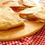 Rustico pomodoro e mozzarella, senza lievito