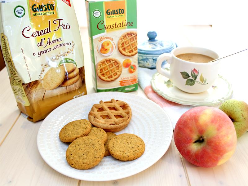 Prodotti per celiaci colazione