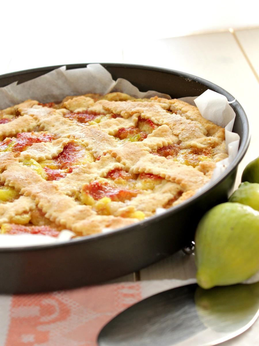 Crostata con fichi freschi ricetta