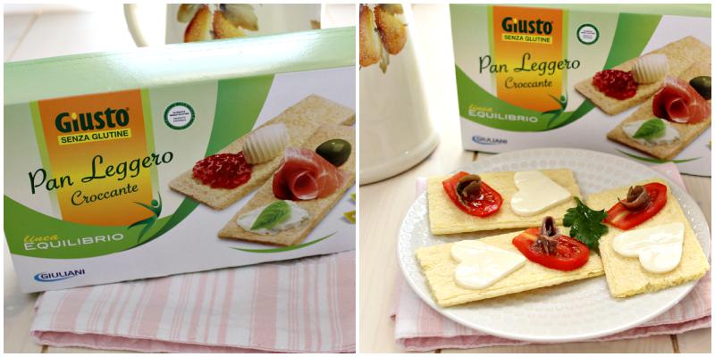 prodotti per celiaci pan croccante collage