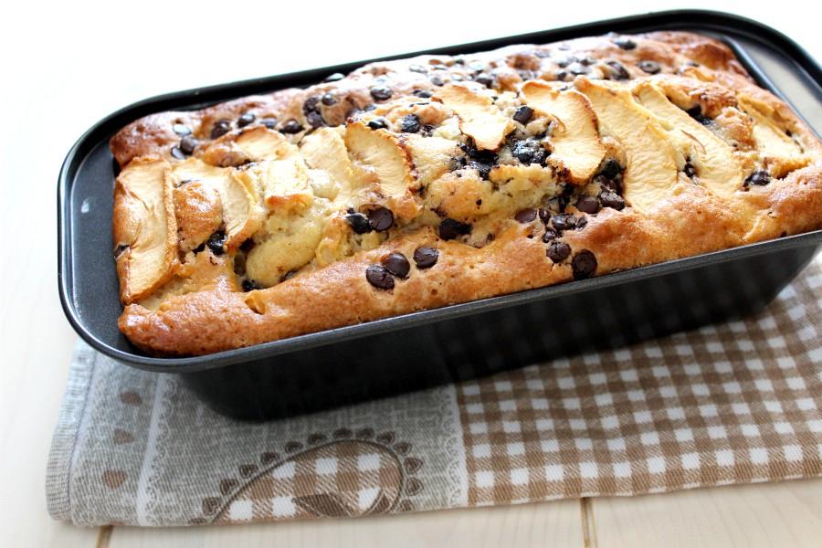 Plumcake pere e cioccolato soffice e umido