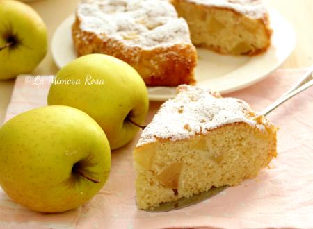 Torta di mele facile e sofficissima, senza burro
