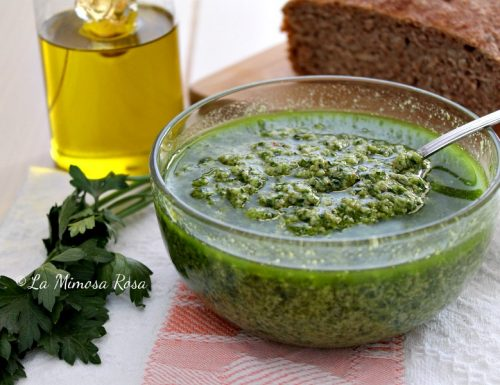 Bagnetto verde piemontese di Mimico