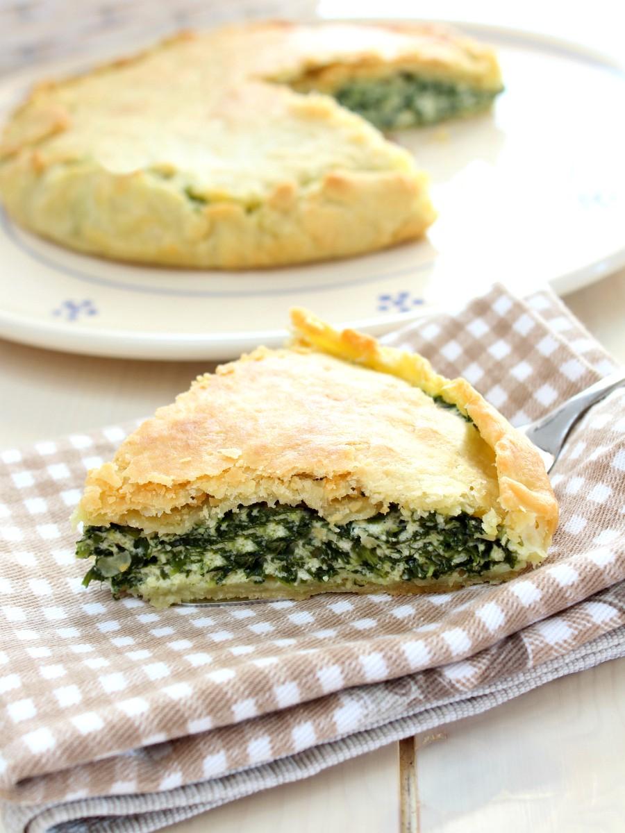 Torta salata ricotta e spinaci ricetta