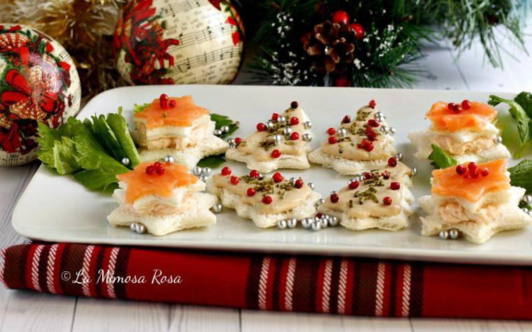 Antipasti di Natale, tartine natalizie!