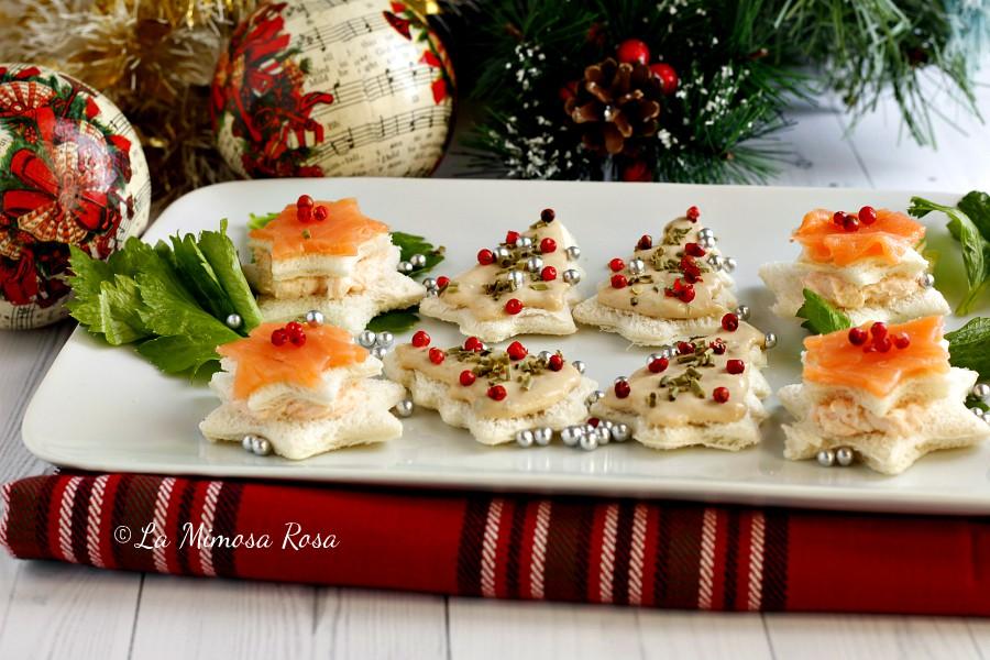 Antipasti Di Natale Belli.Antipasti Di Natale Tartine Natalizie Facili E Veloci