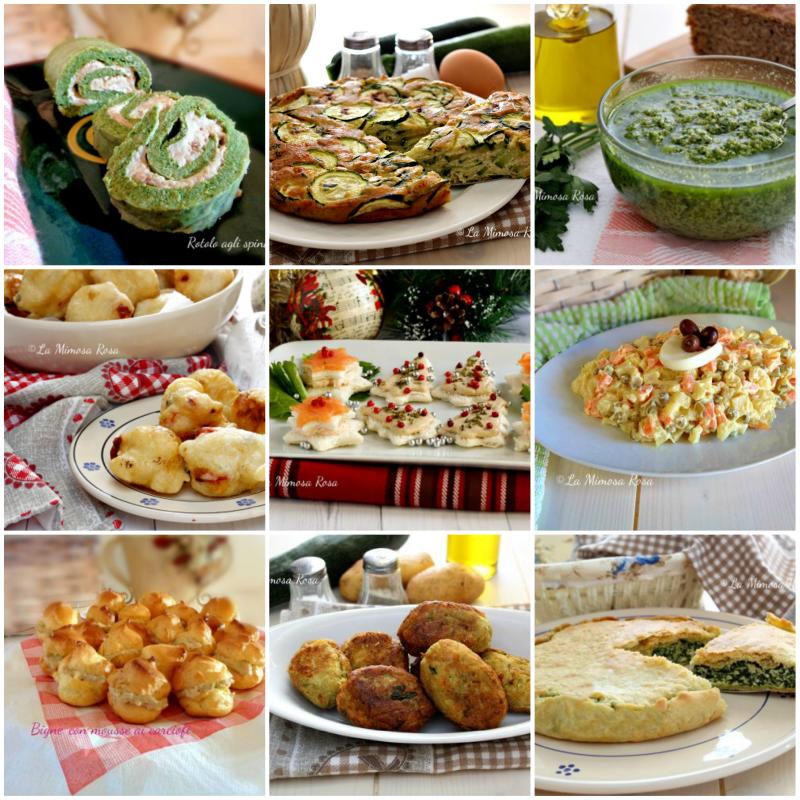 10 Antipasti Di Natale.Antipasti Di Natale Facili E Veloci Finger Food Stuzzichini Salse