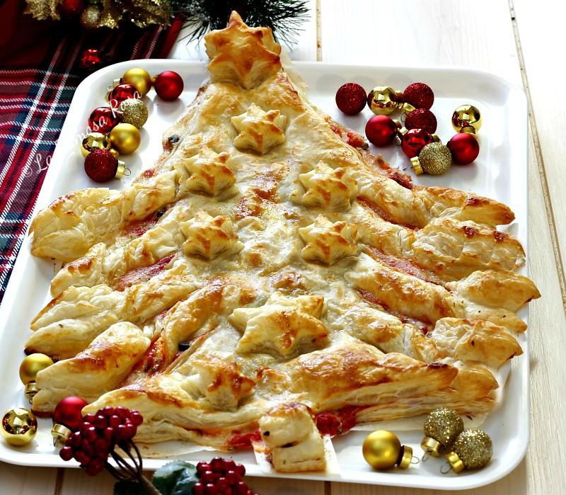 Albero Di Natale Pasta Sfoglia.Albero Di Natale Di Sfoglia Facile Veloce Goloso E Scenografico