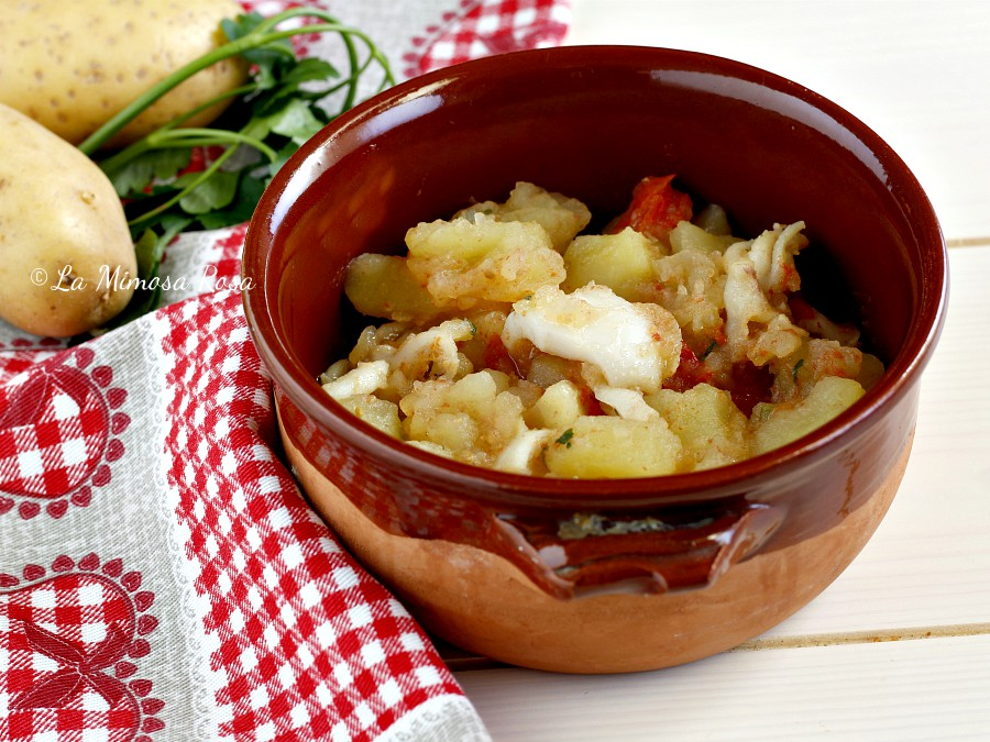 Seppie con patate in umido