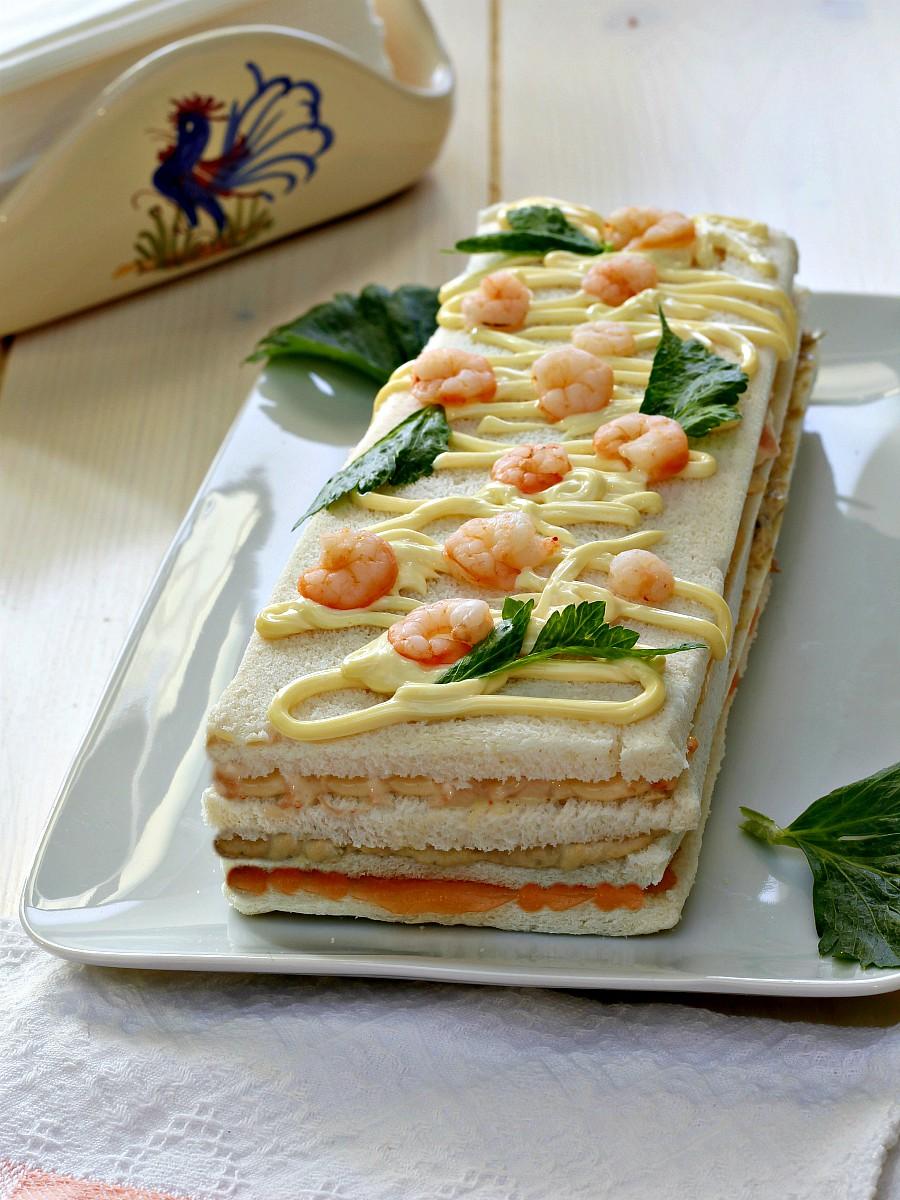 Torta tramezzino ricetta facile e veloce