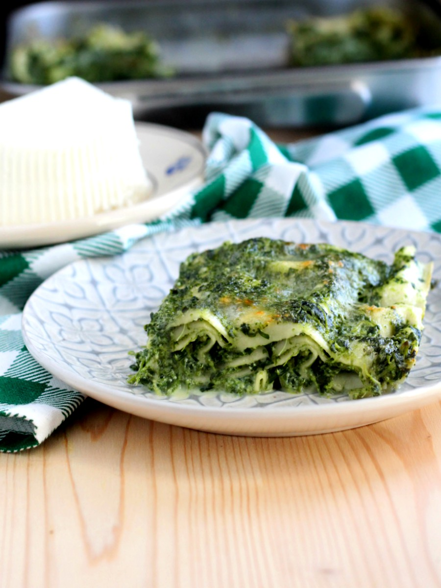 Lasagne con ricotta e spinaci ricetta