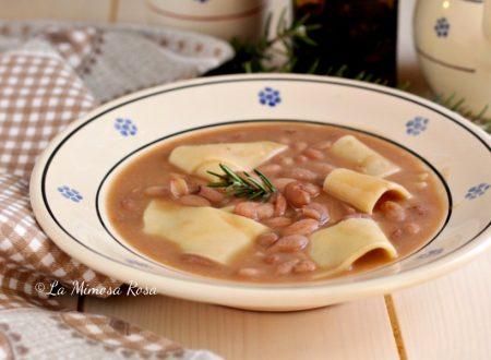 Pasta e fagioli, versione con lasagnette (o lagane )