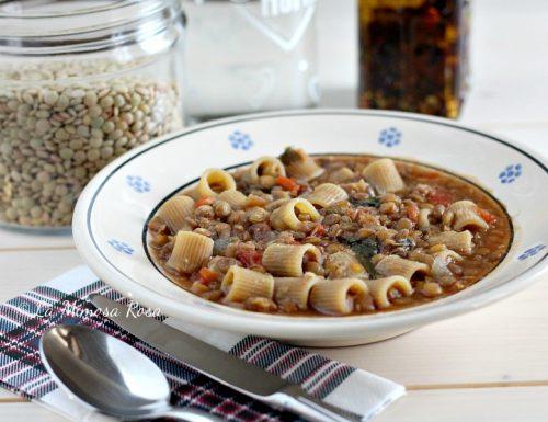 Pasta e lenticchie, ricetta della nonna