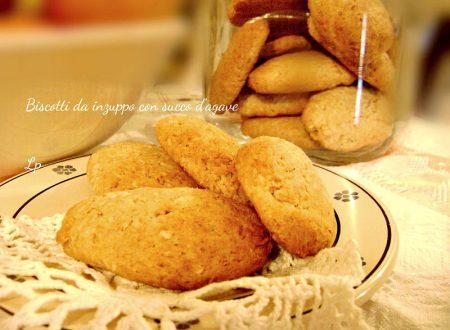 Biscotti con sciroppo d'agave, da inzuppo