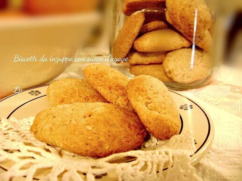 Biscotti con sciroppo d'agave
