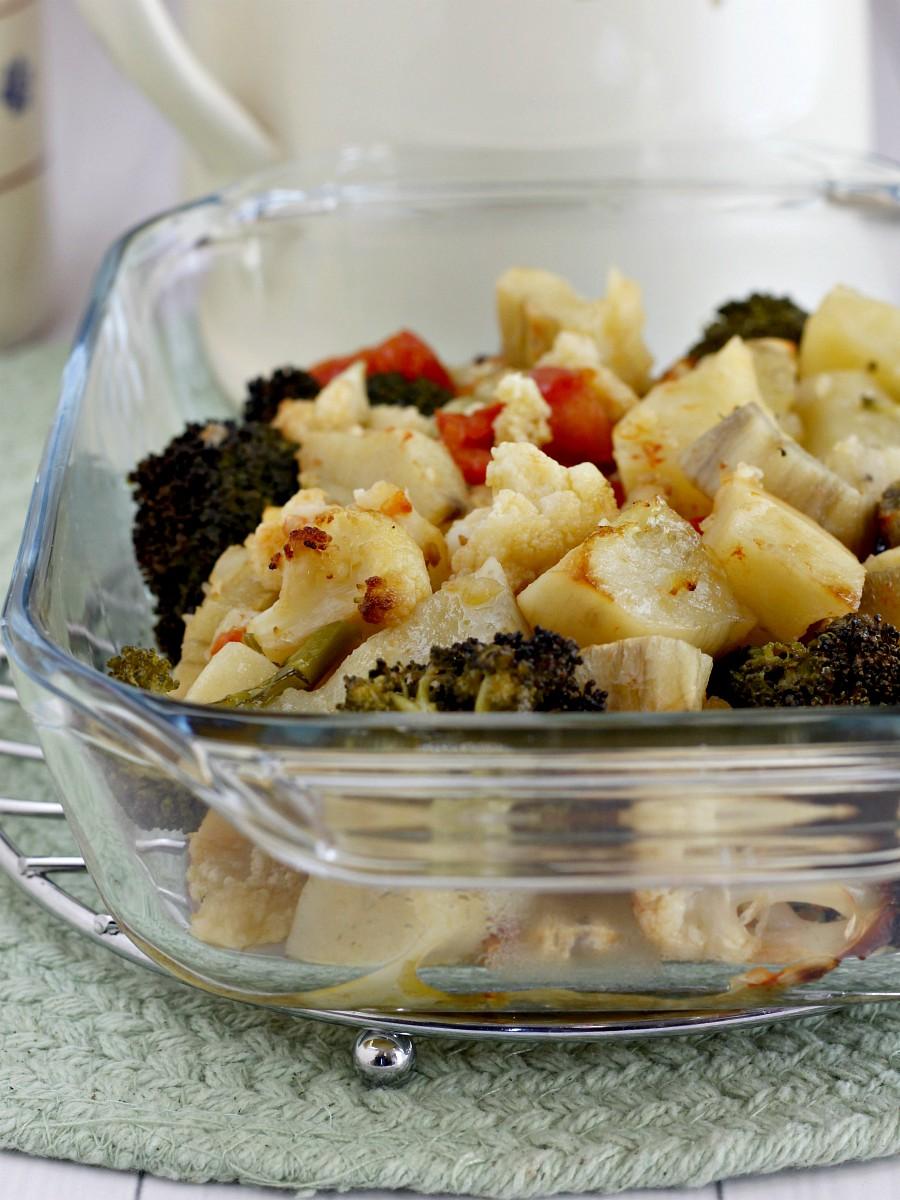 Verdure miste al forno ricetta