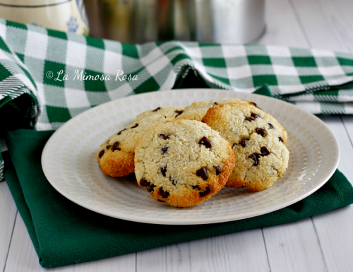 Biscotti al cocco veloci, senza zucchero nè lievito nè farina