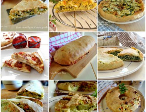 Torte salate e rustici saporiti