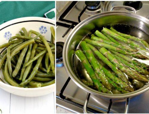 Come cuocere le verdure lasciando il loro colore brillante