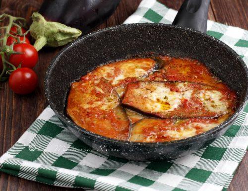 Melanzane alla pizzaiola in padella ( a crudo )