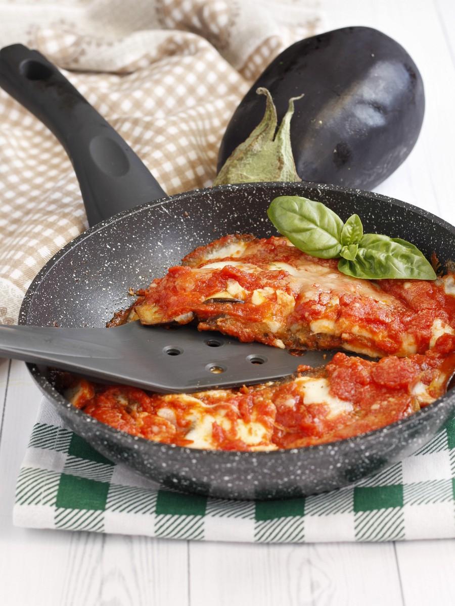 Melanzane alla pizzaiola in padella 3
