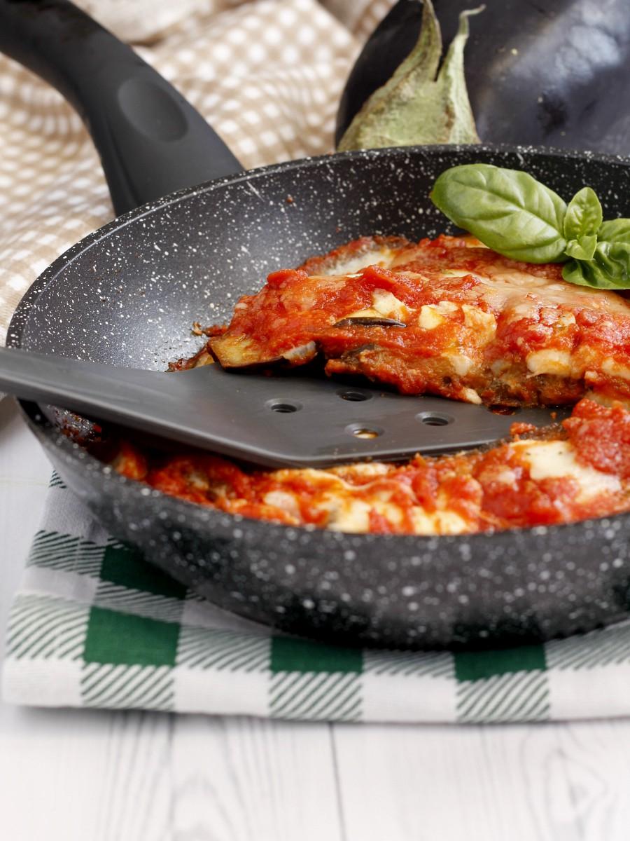 Melanzane alla pizzaiola in padella 1