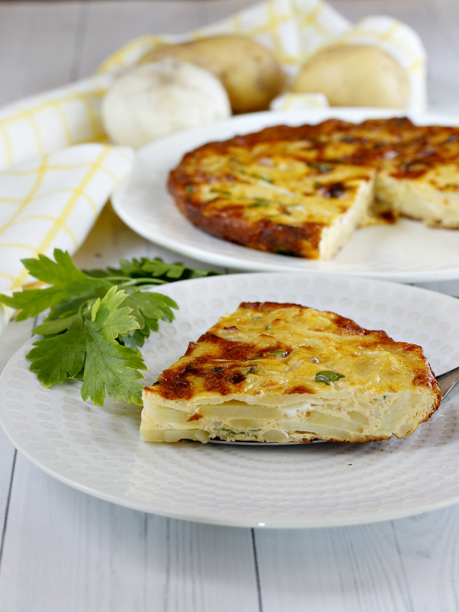 Ricetta Per Tortillas Spagnole.Tortilla Spagnola Al Forno Facile E Gustosa Senza Formaggio