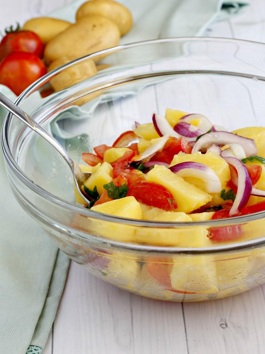 Insalata di patate pugliese ricetta