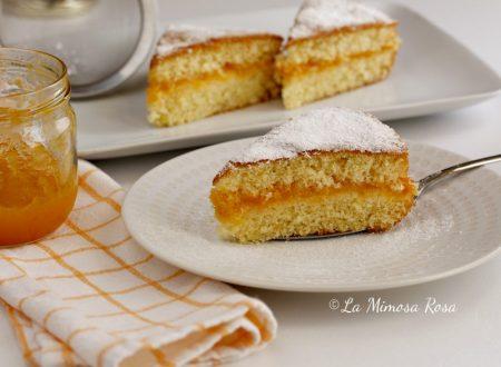 Torta morbida con marmellata