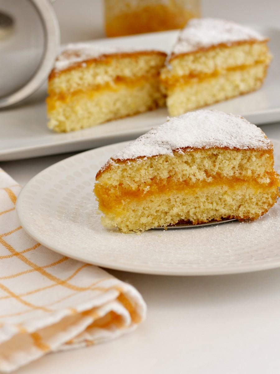 Torta morbida con marmellata ricetta