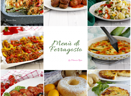Menù di Ferragosto, ricette facili e veloci