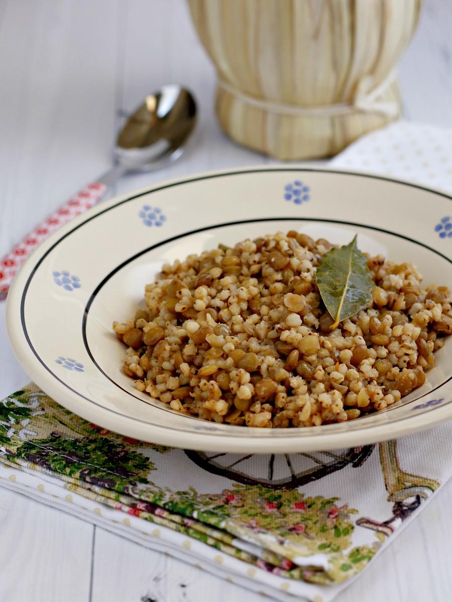 Sorgo con lenticchie ricetta
