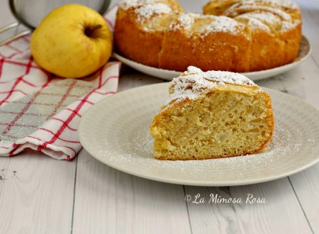Torta di mele senza burro