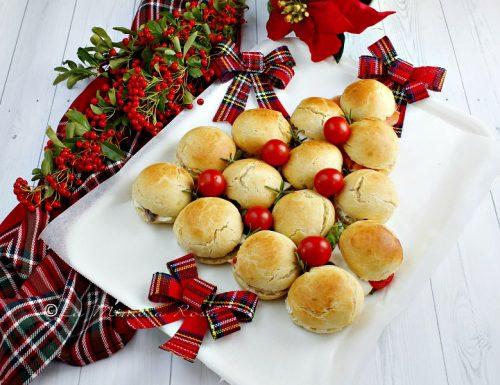 Albero di Natale di panini
