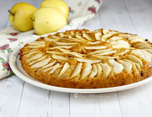 Torta di mele e marmellata senza zucchero