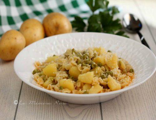 Minestra di patate e piselli