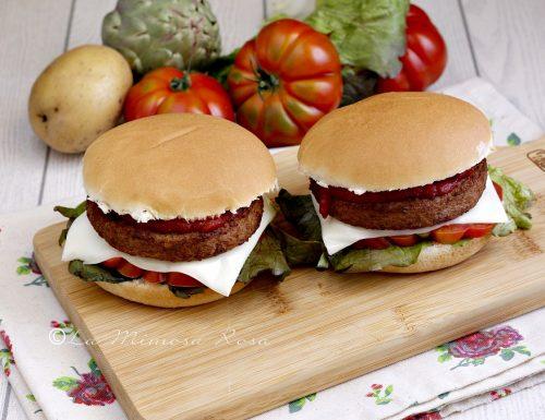 Burger di patate e carciofi