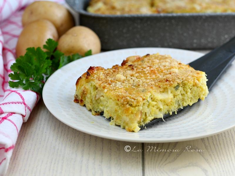 Sformato di patate e verza