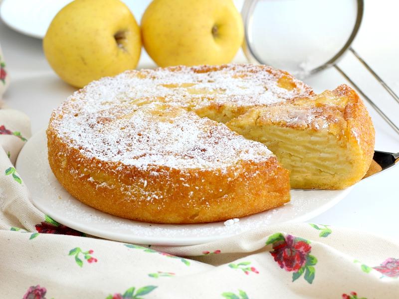 Torta di mele di Alessandra Spisni.